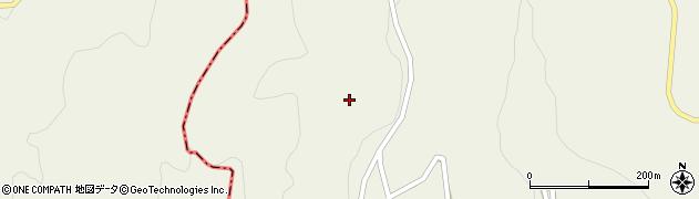 山形県最上郡大蔵村南山357周辺の地図