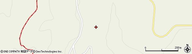 山形県最上郡大蔵村南山373周辺の地図