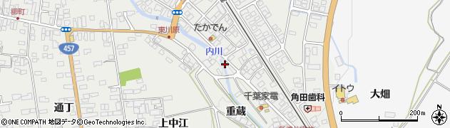 宮城県大崎市岩出山(下川原)周辺の地図