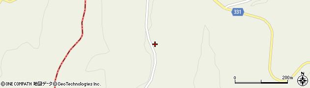 山形県最上郡大蔵村南山333周辺の地図