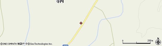 山形県尾花沢市寺内973周辺の地図