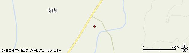 山形県尾花沢市寺内837周辺の地図