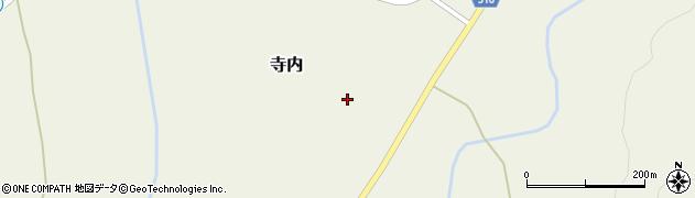 山形県尾花沢市寺内988周辺の地図