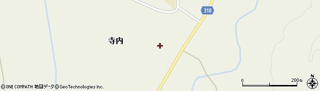山形県尾花沢市寺内998周辺の地図
