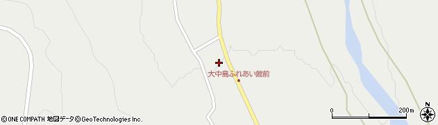 山形県東田川郡庄内町立谷沢大谷周辺の地図