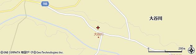 宮城県大崎市古川雨生沢(甲大谷川)周辺の地図