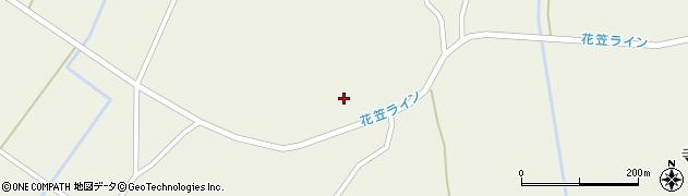 山形県尾花沢市寺内2494周辺の地図