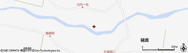 宮城県栗原市瀬峰上富川原周辺の地図