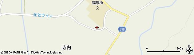 山形県尾花沢市寺内1024周辺の地図