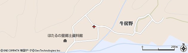 山形県尾花沢市牛房野550周辺の地図