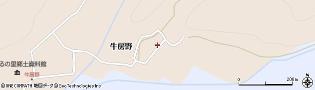 山形県尾花沢市牛房野216周辺の地図