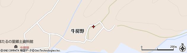 山形県尾花沢市牛房野281周辺の地図