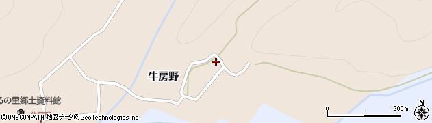 山形県尾花沢市牛房野218周辺の地図