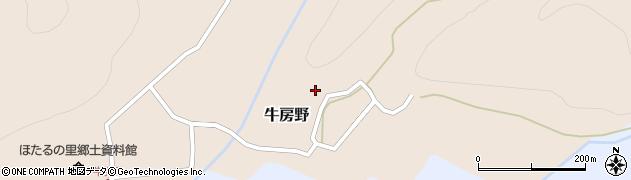 山形県尾花沢市牛房野284周辺の地図