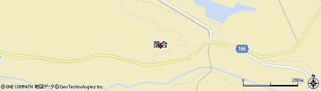 宮城県大崎市古川雨生沢(落合)周辺の地図