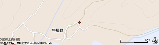 山形県尾花沢市牛房野226周辺の地図