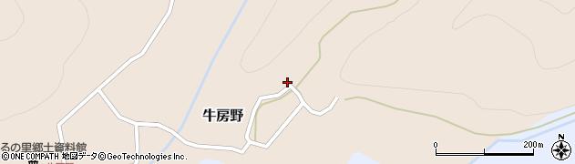 山形県尾花沢市牛房野277周辺の地図