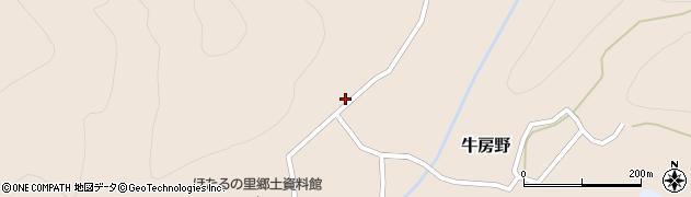 山形県尾花沢市牛房野543周辺の地図