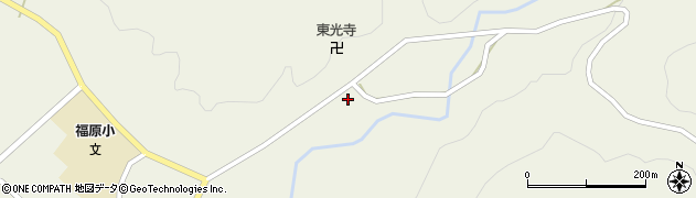 山形県尾花沢市寺内684周辺の地図