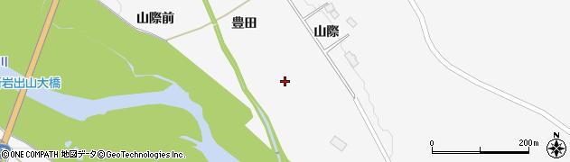 宮城県大崎市岩出山下野目(豊田)周辺の地図