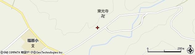 山形県尾花沢市寺内690周辺の地図