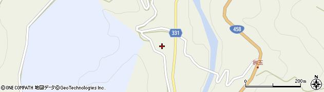 山形県最上郡大蔵村赤松1339周辺の地図