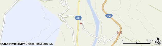 山形県最上郡大蔵村赤松1308周辺の地図