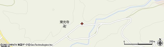 山形県尾花沢市寺内614周辺の地図