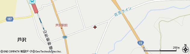 山形県尾花沢市芦沢976周辺の地図