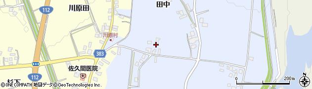 山形県鶴岡市東荒屋(田中)周辺の地図