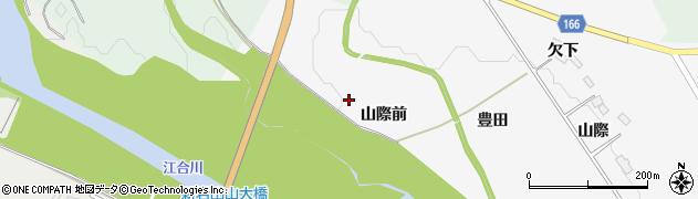 宮城県大崎市岩出山下野目(山際前)周辺の地図
