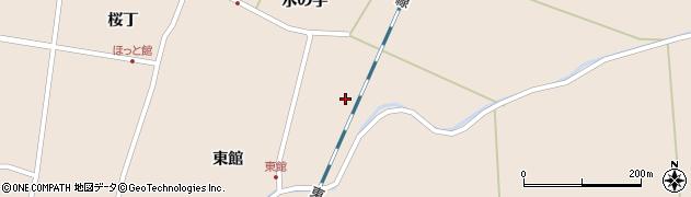 宮城県栗原市高清水天神浦周辺の地図