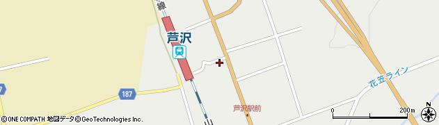 山形県尾花沢市芦沢1205周辺の地図