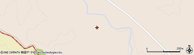宮城県大崎市岩出山南沢(曲田向)周辺の地図