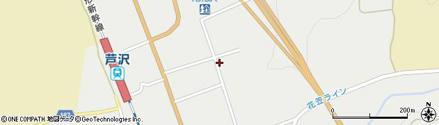 山形県尾花沢市芦沢1198周辺の地図