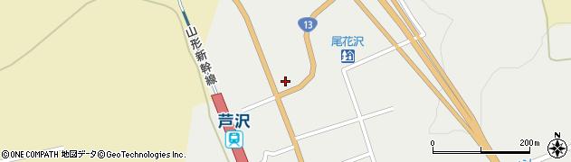 山形県尾花沢市芦沢1214周辺の地図