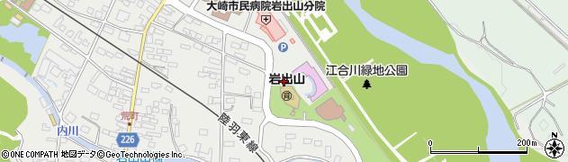 宮城県大崎市岩出山(下川原町)周辺の地図