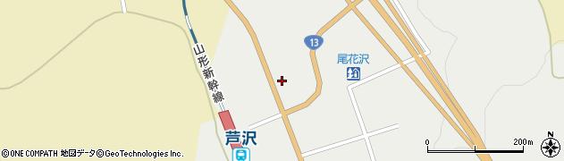 山形県尾花沢市芦沢1215周辺の地図