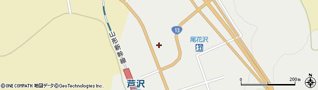 山形県尾花沢市芦沢1216周辺の地図