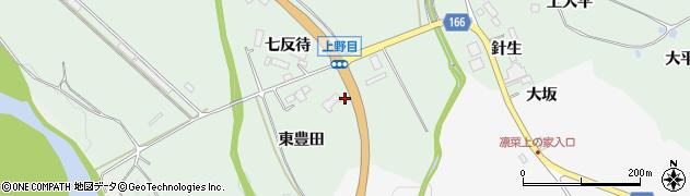 宮城県大崎市岩出山上野目(穴田)周辺の地図