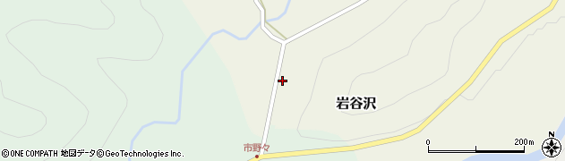 山形県尾花沢市岩谷沢18周辺の地図