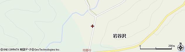 山形県尾花沢市岩谷沢17周辺の地図