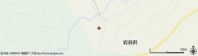 山形県尾花沢市岩谷沢22周辺の地図