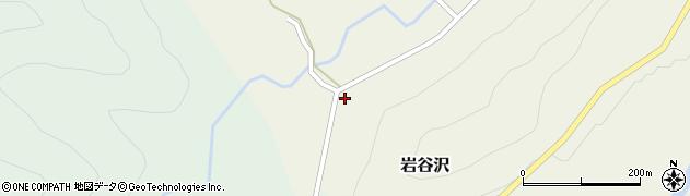 山形県尾花沢市岩谷沢周辺の地図