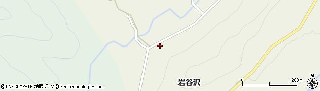 山形県尾花沢市岩谷沢34周辺の地図