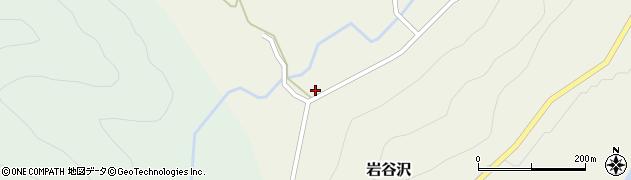 山形県尾花沢市岩谷沢33-1周辺の地図