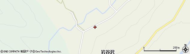 山形県尾花沢市岩谷沢45周辺の地図