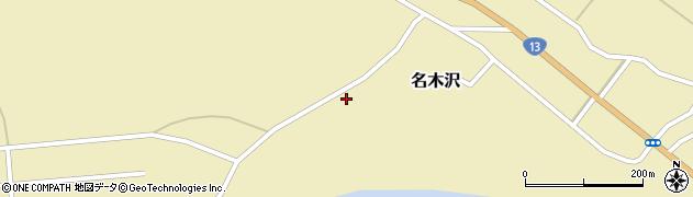 山形県尾花沢市名木沢813周辺の地図