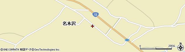 山形県尾花沢市名木沢64周辺の地図
