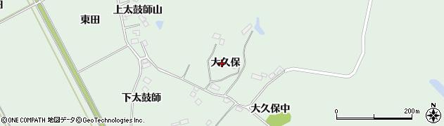 宮城県大崎市岩出山上野目(大久保)周辺の地図